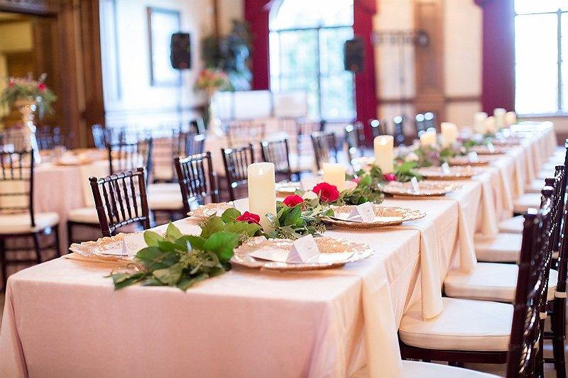 wedding decoration ideas for the head table
