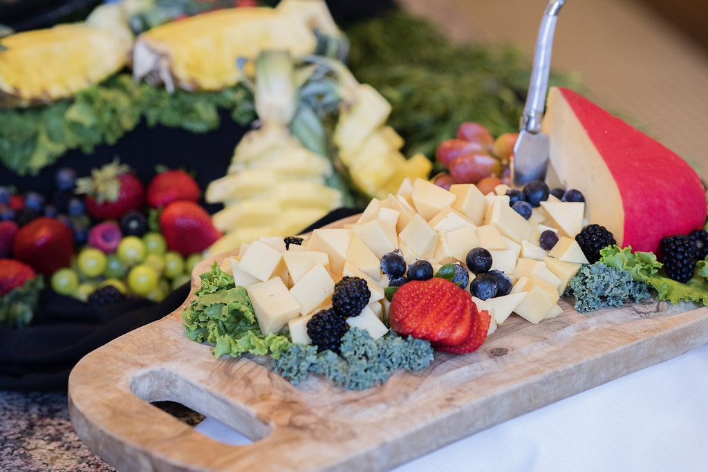 Cheese Display for a wedding reception in Oklahoma