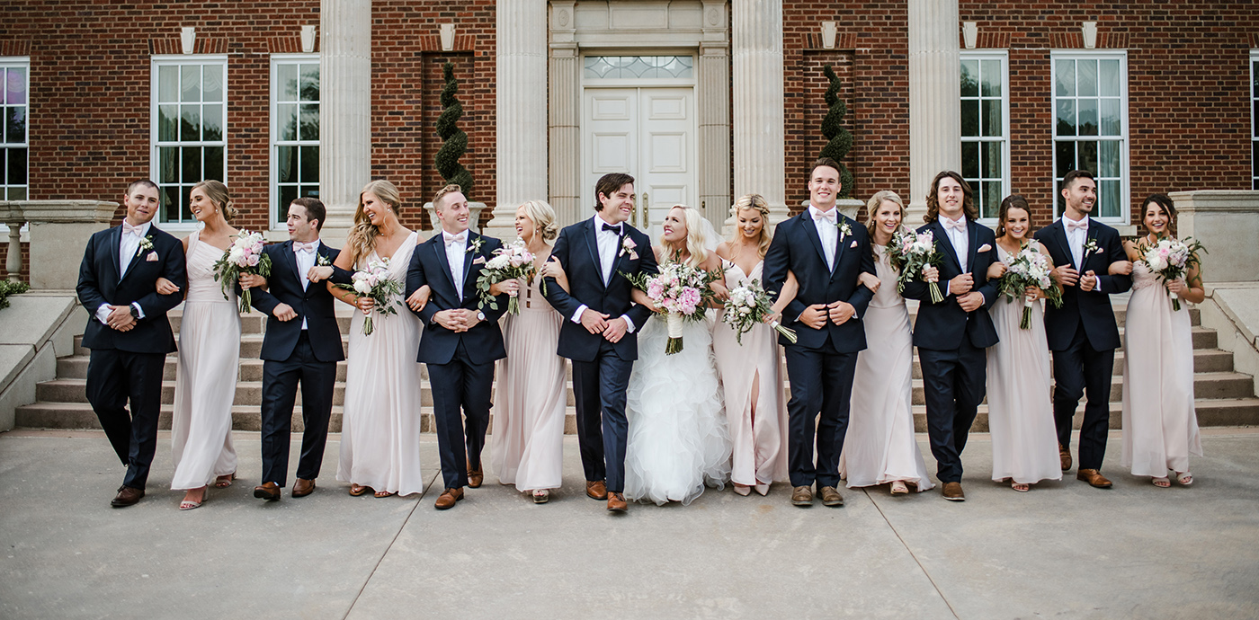 Oklahoma Wedding Party at Dominion House
